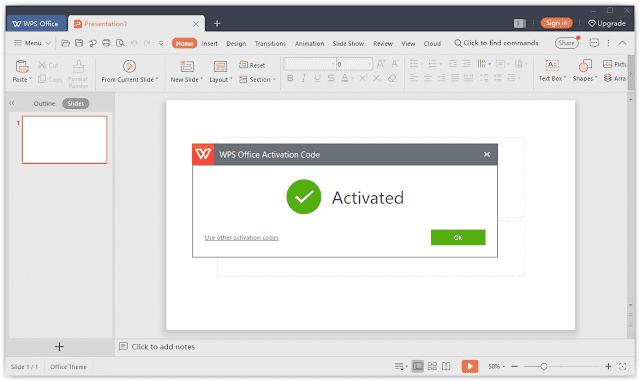 Screenshot WPS Office 2019 v11.2.0.9150 Full Version