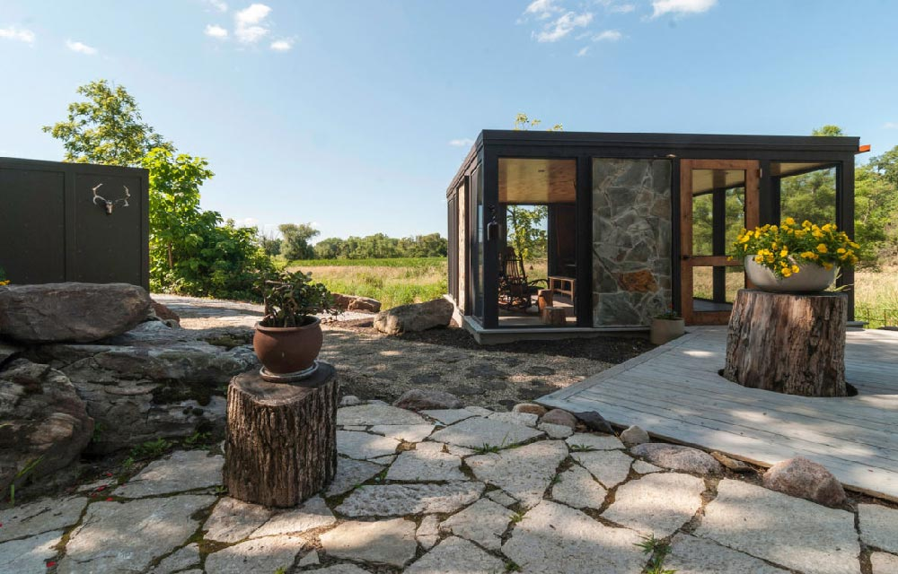 Progetto di ristrutturazione di un casale di campagna