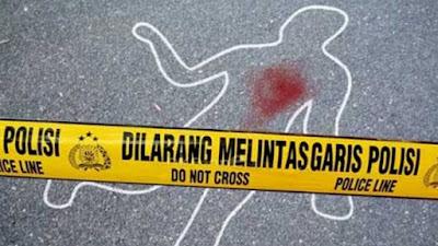 Mayat Tanpa Identitas Tergeletak di Jalan Lintas Taput, Diduga Korban Tabrak Lari