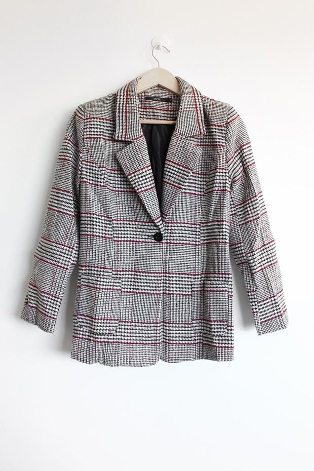 Blazer xadrez, zaful, como usar blazer, como usar blazer xadrez, look com blazer xadrez, onde comprar blazer xadrez, Plaid Blazer