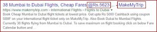 Check flight ticket price rate - techavsar