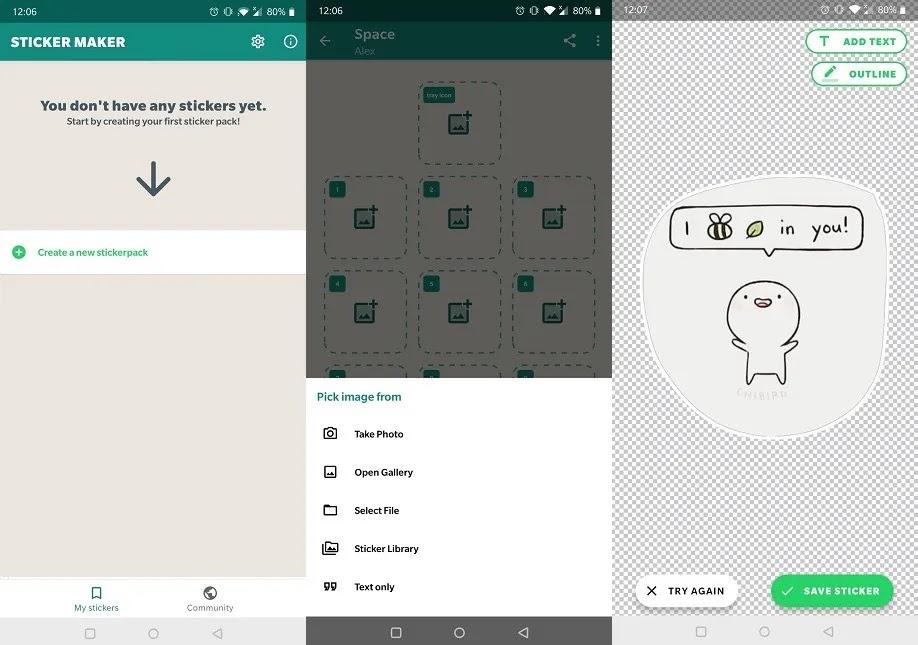 تحسين Whatsapp Experience Sticker Maker