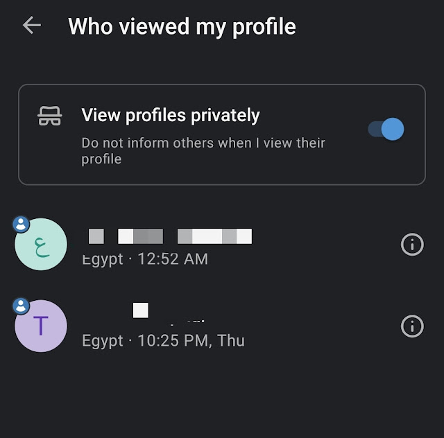Who Viewed My Profile