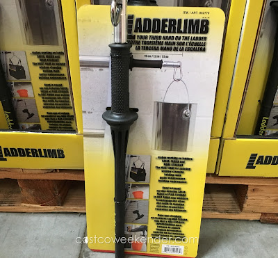 Be more comfortable while on the ladder with the Ladderlimb Ladder Accessory
