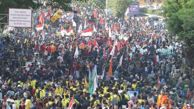 Mahasiswa Nyatakan Mosi Tak Percaya ke Pemerintah dan DPR