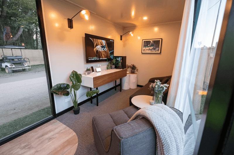 Premium and futuristic hotel