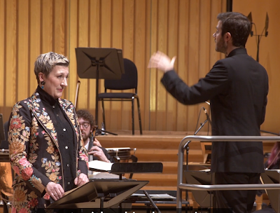 Berlioz: Les nuits d'été - Dame Sarah Connolly, Royal Northern Sinfonia, Dinis Sousa at Sage Gateshead, April 2021 (photo taken from live-stream)