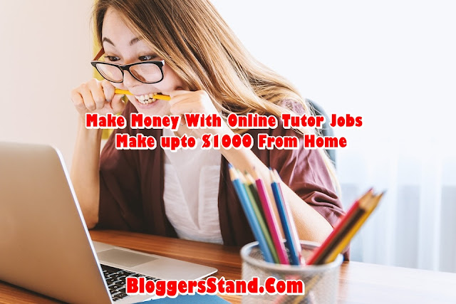 How To Make Money From Home Online Tutor Jobs