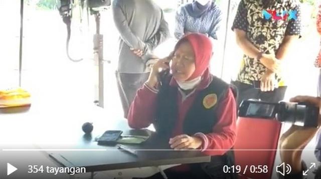 VIRAL Video... Risma Ngamuk Mobil PCR Bantuan untuk Surabaya Malah Dialihkan ke Daerah Lain