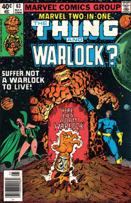 Marvel Two-In-One #63, The Thing and Adam Warlock