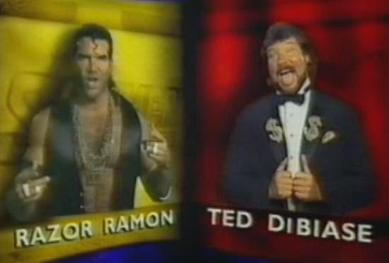 WWF / WWE SUMMERSLAM 1993: Razor Ramon vs. Ted Dibiase