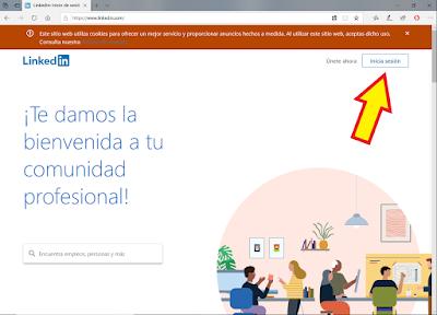pagina-inicio-LinkedIn