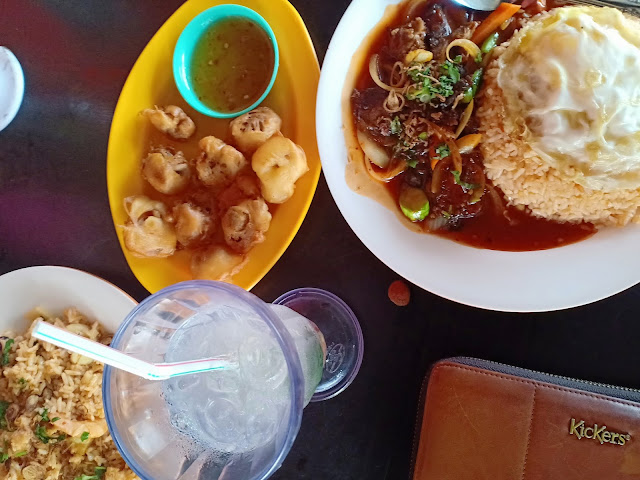 Makan di Restoran Rimba Buluh Semenyih