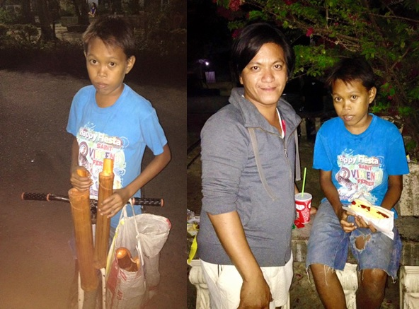 Netizen Rayamel Racoma shared his fateful encounter with the young coin bank vendor