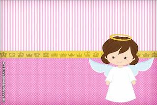 Angel Girl Free Printable Mini Kit For Baptism Oh My Baby