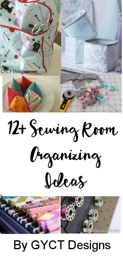 Sewing and Craft room organizing ideas