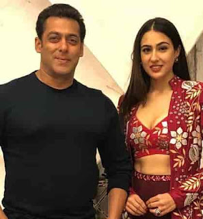 Sara Ali Khan With Salman Khan