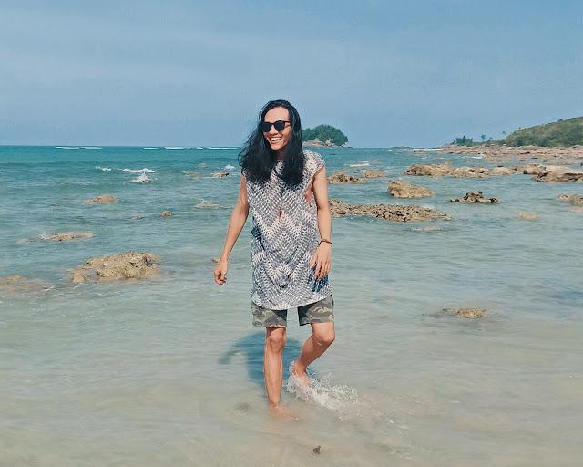 Pantai Tuing Pulau Bangka