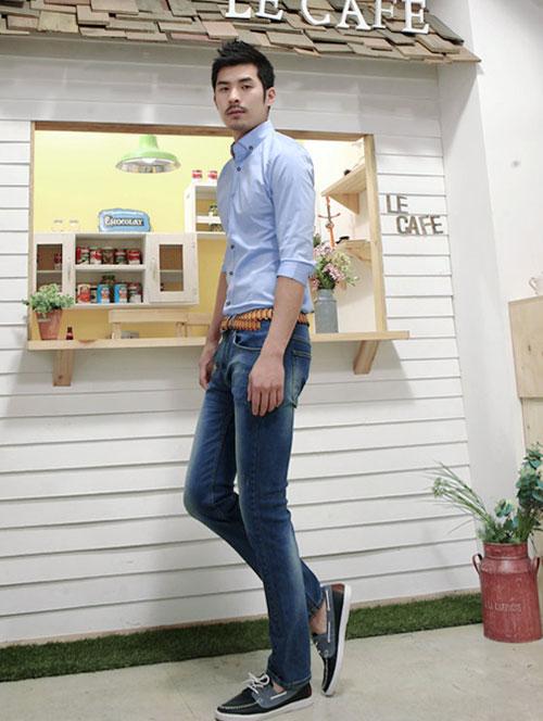 cách chọn quần jeans nam cho người dáng gầy