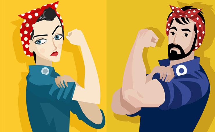 The Serial Comma: Feminism: The Results of a Misinterpretation