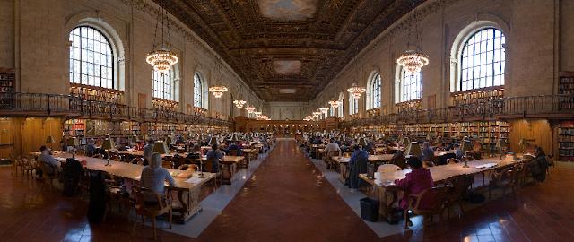Informações da Biblioteca Pública de Nova York