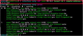 Konfigurasi Interface EoIP