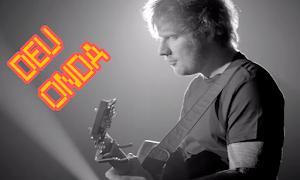 'Meu fechamento é você, mozão': Ed Sheeran canta trecho de 'Deu Onda' em entrevista