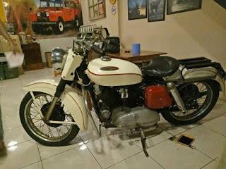 JURAGAN LAPAK MOTOR KLASIK HARLEY : Sporster XL Tahun 1957 Mesin 900cc - MAGETAN