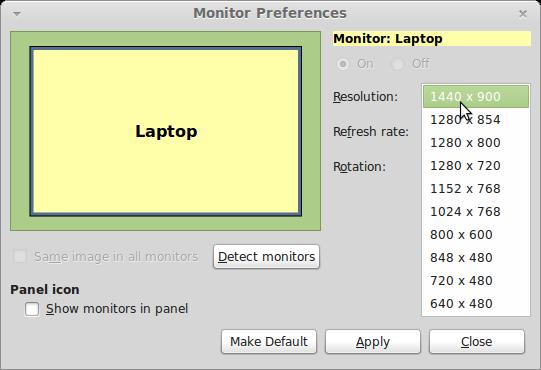 Line-At-A-Time: Linux Mint 15 XORG Compaq 6820s ATI Radeon Rv516