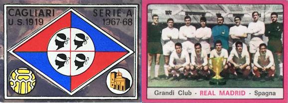 VICENZA GREGORI figurina CALCIATORI PANINI 1967//68 REC