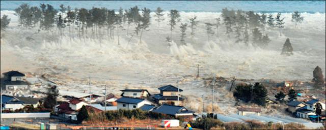 موجات تسونامي التى قد يحدثها طوربيد يوم القيامة