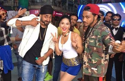 Sunny Leone, Mar Gaye Song, Beiimaan Love, Vishnu Deva, Punjabi Hip Hop, Singers Raftaar and Manj Beiimaan Love, Nirmal Lifestyle Mall in Mulund