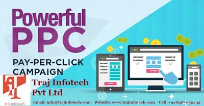 Pay Per Click Service - Traj Infotech