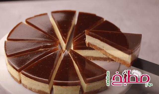 اسرع حلو بارد ( بدون بيض بدون كريمة ) هبة ابو الخير