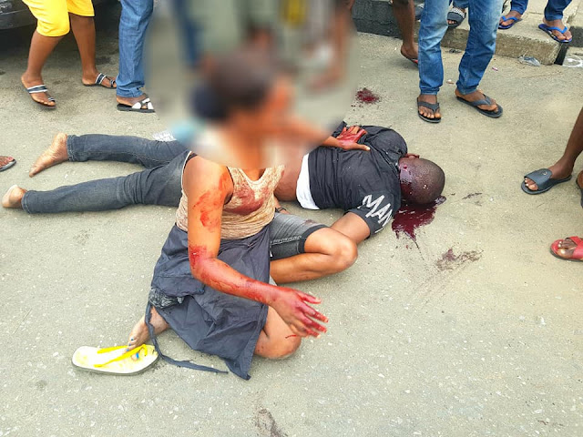 See How a Man was Shot Dead In Front Of His Girlfriend In Rivers State