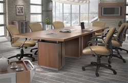 Powered Boardroom Table