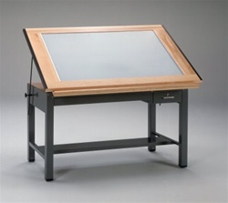Lighted Drafting Table