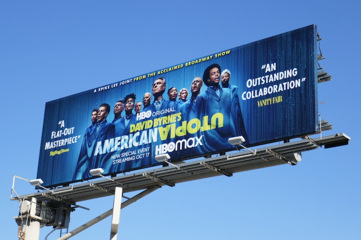 American Utopia billboard