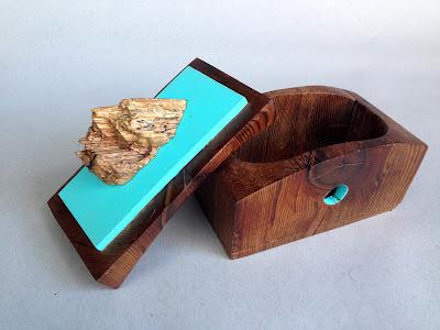 Ben Hancock | Something New | bandsaw box | $170