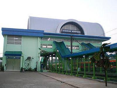 Alamat Stasiun Serpong