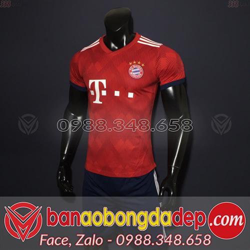 Áo Câu Lạc Bộ Bayern Munich Sân Khách 2 Màu Đỏ 2019