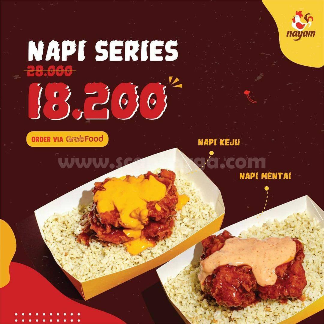 Promo Nayam Diskon 35% setiap pembelian Napi Series*