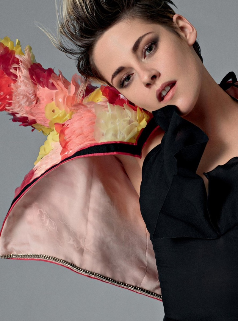 Kristen Stewart strikes a pose in Chanel spring-summer 2020 campaign