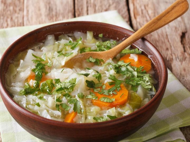 Receta de Sopa con Col