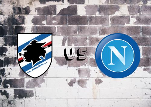 Sampdoria vs Napoli  Resumen y Partido Completo