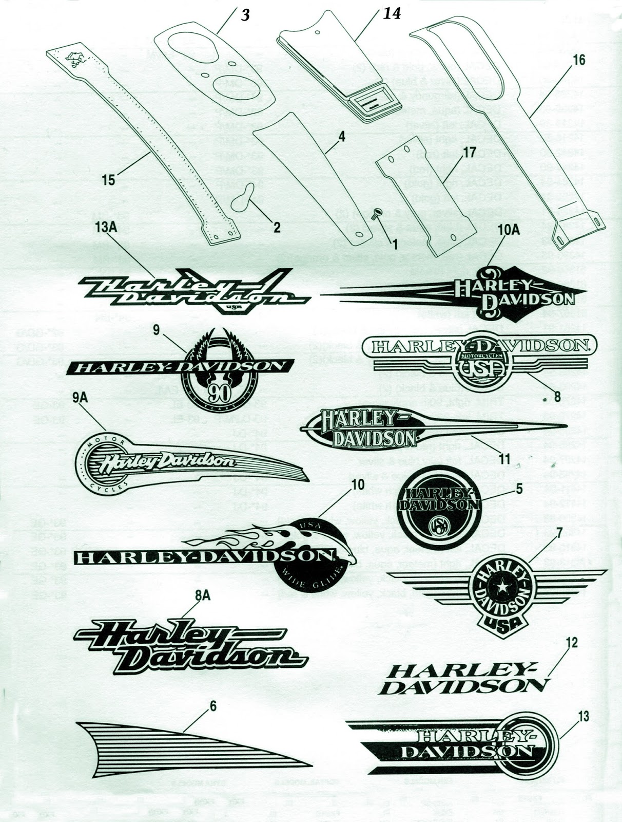 tech files 1993 94 harley davidson carb diagrams fuel tank logos [ 1212 x 1600 Pixel ]