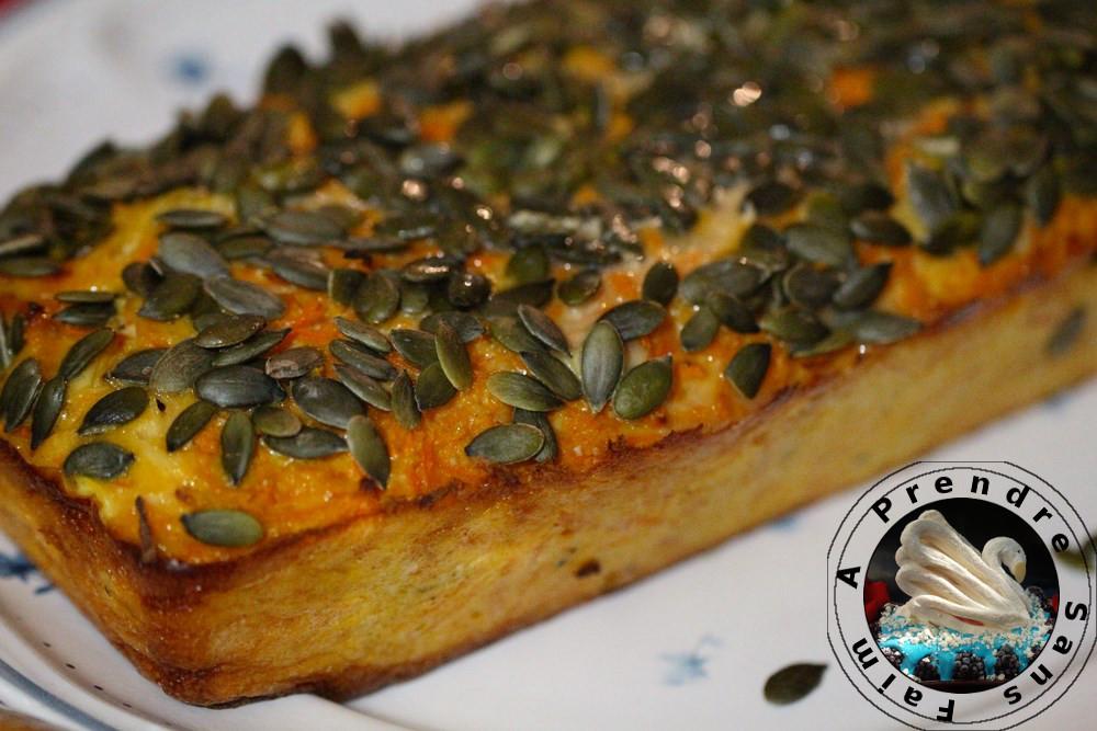 Terrine carottes orange