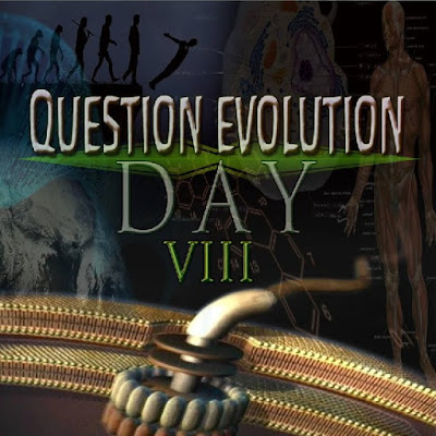 Atheists and other anti-creationists try to stop freedoms of speech and religion, and hate Question Evolution Day