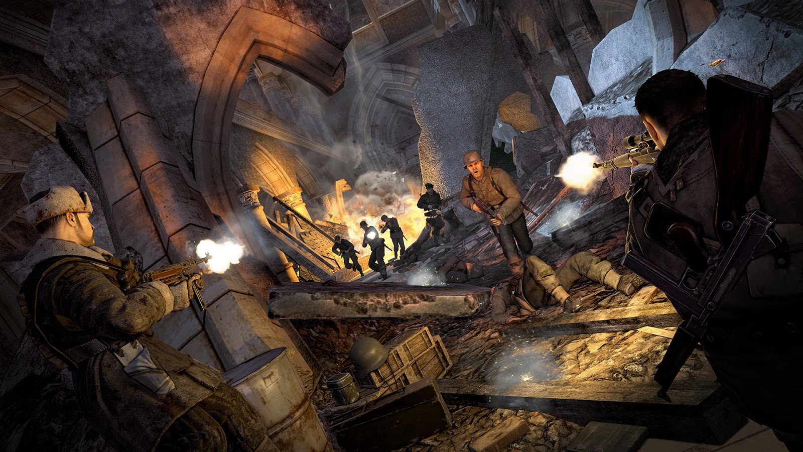 Sniper Elite V2 Remastered PC ESPAÑOL (CODEX) 1