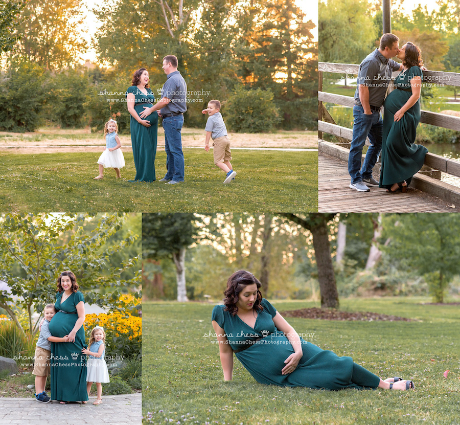 outdoor maternity photography eugene oregon